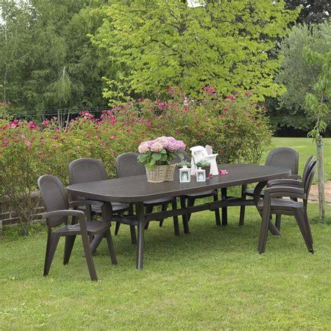 sedie e tavolo da giardino idee di set tavolo e sedie da giardino image gallery