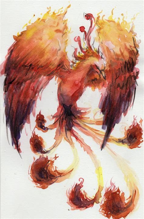 watercolor tattoo phoenix 1000 images about ideas on
