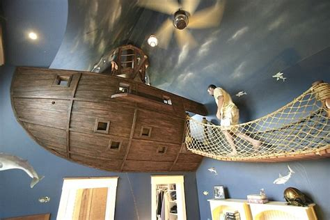 boys pirate bedroom the quirky globe 6 year old boy gets 2 storey pirate ship