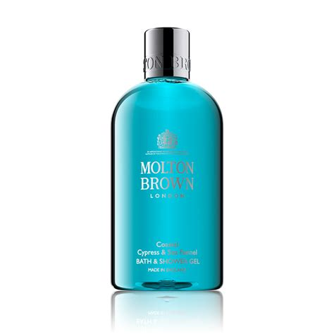 molton brown bath and shower gel cypress sea fennel wash molton brown 174 us