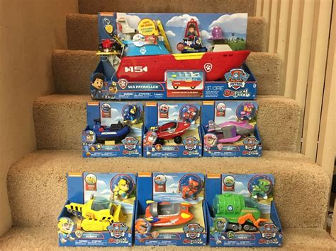 paw patrol boat truck new paw patrol sea patroller and sea patrol vehicles
