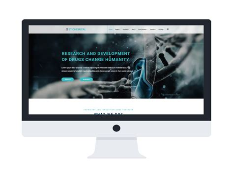 Et Chemical Free Responsive Chemical Website Templates Chemical Website Templates