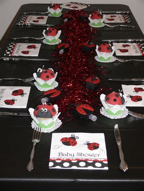 Ladybug Baby Shower Centerpieces by Pics Of Ladybug Baby Shower Style Centerpieces Theme Ideas