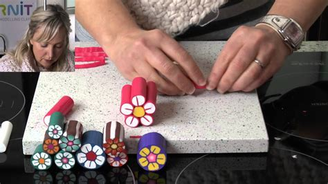 youtube tutorial polymer clay polymer clay tutorials how to make a flower cane youtube
