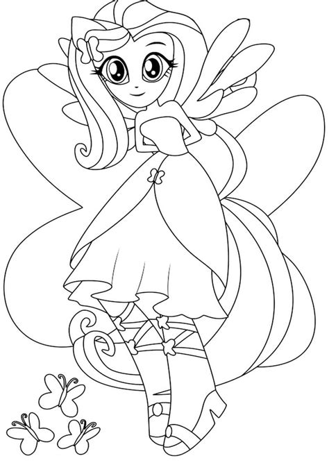 my little pony equestria girls coloring pages