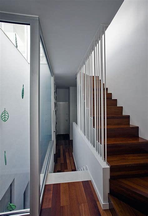 by nimmrichter cda architects interior wood stairs design http joanroig com portfolio casa entre medianeras
