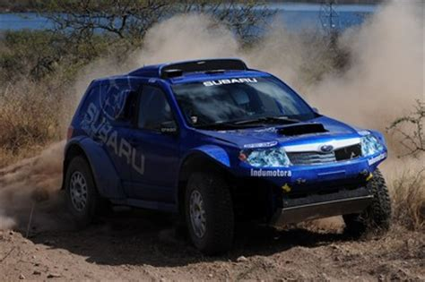 subaru dakar dakar subaru rolls on evo corse wheels easier