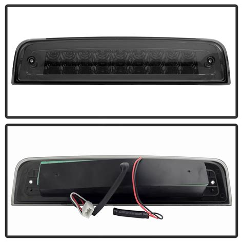led 3rd brake light for dodge ram 2500 2009 2016 dodge ram 1500 2500 3500 blk smoke led tail