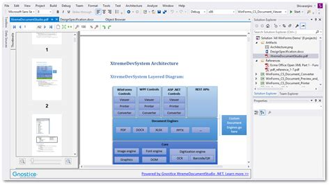 format file visual studio gnostice free pdfnoffice viewer for visual studio