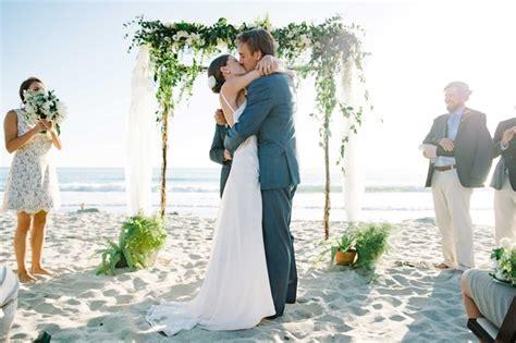 simple wedding in california sweet simple wedding with wood detailing in california inside weddings