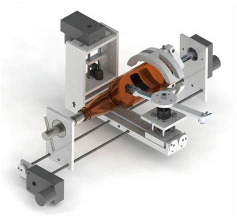 automated bottle cutter makezilla