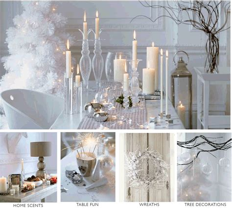 silver christmas tables sets christmas tables winter