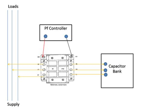 capacitor bank diagram how to install power factor controller wide wired world