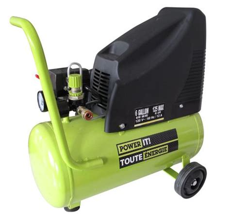 power it 6 gallon air compressor walmart canada