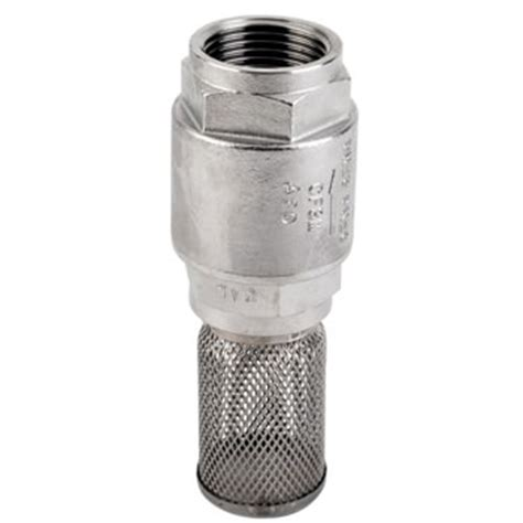 Foot Valve Stainles stainless steel foot valve and strainer non return valve