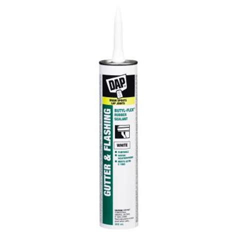 dap 300ml white butyl flex gutter and sealant