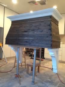 Wood range hood reclaimed wood rynes reclaimed wood hoods 2 300