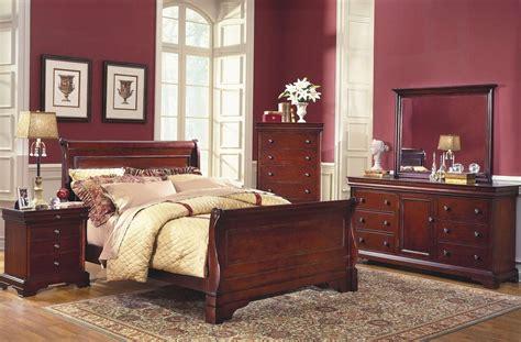 bordeaux bedroom set versaille bordeaux sleigh bedroom set from new classics