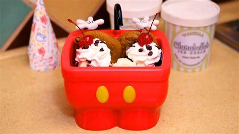 6 Of Disney World S Best Snacks In Souvenir Take Home Kitchen Sink Sundae