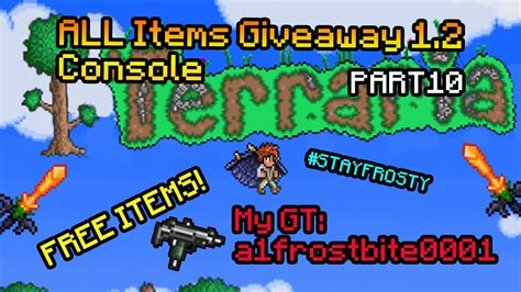 Terraria Free Giveaway - terraria console free items giveaway xbox 360 terraria ice sickle episode 10