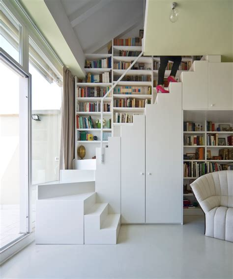 staircase bookshelves the best stair step bookcase combos to be in awe of decohoms