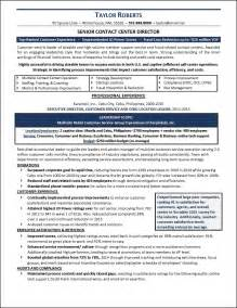 Call Center Resume Exle by Resume Exle Call Center