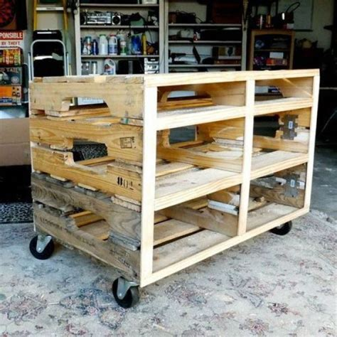 25 best ideas about pallet shelving on pallet