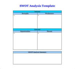swot analysis word template image gallery swot form
