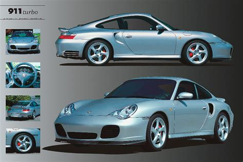 Porsche 911 Turbo Poster Sold At Europosters