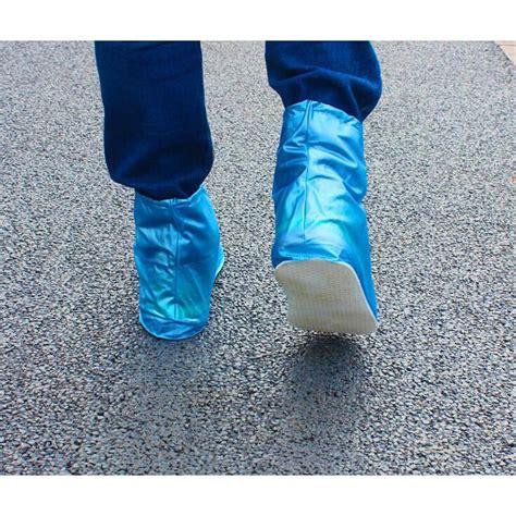 Cover Sepatu Waterproof by Cover Hujan Sepatu Waterproof Size M Blue