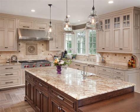 antique beige kitchen cabinets