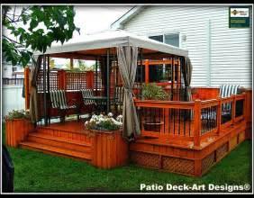 patio deck designs outdoor living traditional deck