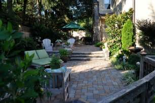a secluded garden chestnut hill