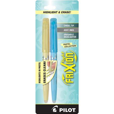 Mixer Lighting Pilot pilot frixion light pastel erasable highlighters yellow