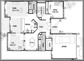 Low Cost House Plans by Floor Plans Real Estate Investments Plans 4 Bed Floorplans