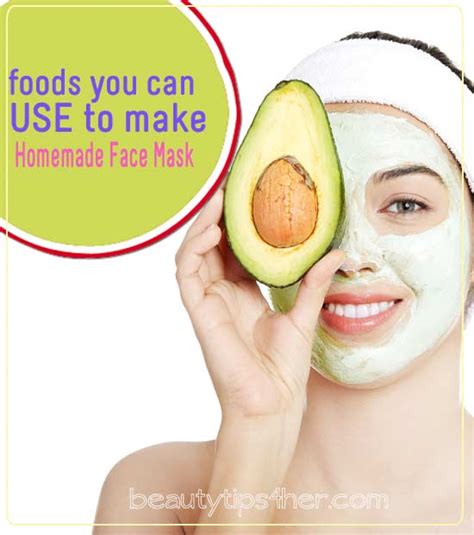 What Can I Use To Detox My Naturally by Foods You Can Use To Make Masks