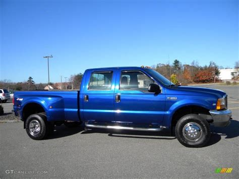 1999 royal blue metallic ford f350 duty xlt crew cab 4x4 dually 40571559 photo 24