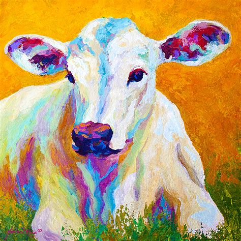 Innocence By Marion Rose Animal Painting For