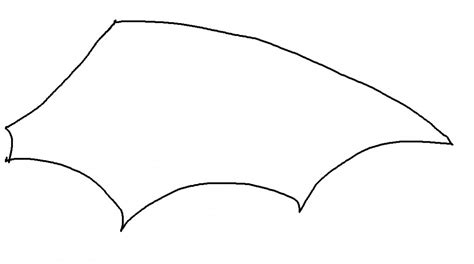 bat wing template our crafts costumes for soft toys yes really