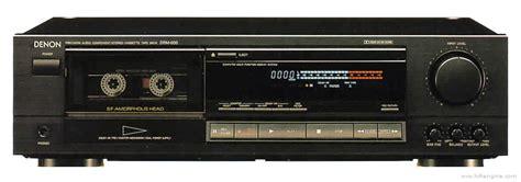 denon cassette deck denon drm 600 manual stereo cassette deck hifi engine