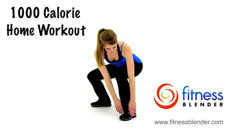 fitness blender s 1000 calorie workout at home hiit cardio