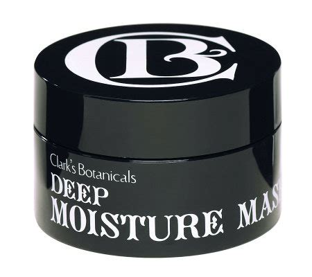 7 Marvelous Clarks Botanicals Products by Clark S Botanicals Moisture Mask Page 1 Qvc