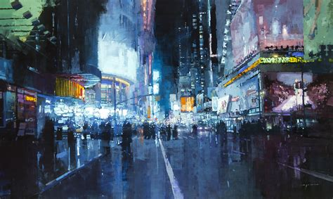 paint nite manhattan gritty new cityscapes by mann colossal