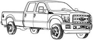 Truck Coloring Pages 6803 Ford ColoringPin sketch template