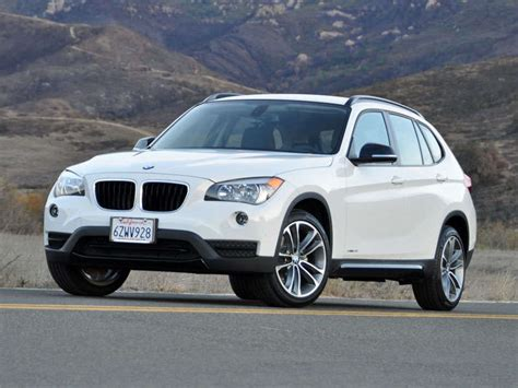 bmw crossover price 2014 bmw x1 crossover suv road test and review autobytel