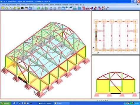 capannone dwg software libreria strutturale