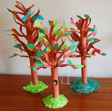 How To Make Tree Model From Paper - 25 best ideas about 3d tree on tree crafts