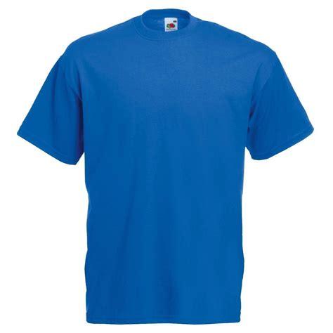 P B Fruit Tshirt royal blue fruit of the loom mens soft spun t shirt plain