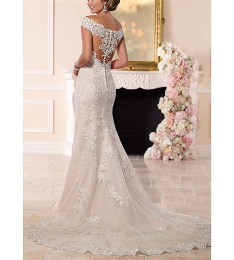 Wedding Dress The Shoulder by Sweetheart The Shoulder Mermaid Wedding Dress