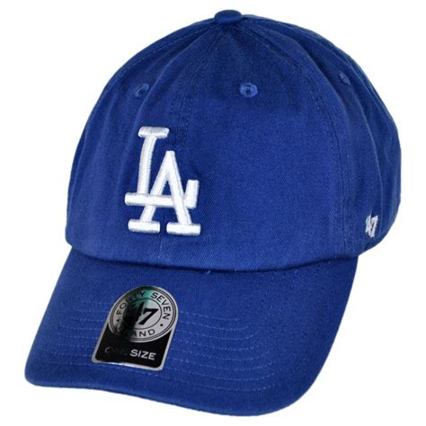 47 brand los angeles dodgers mlb clean up strapback